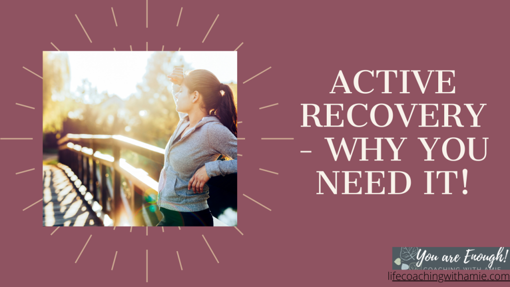 Active Recovery why you need it