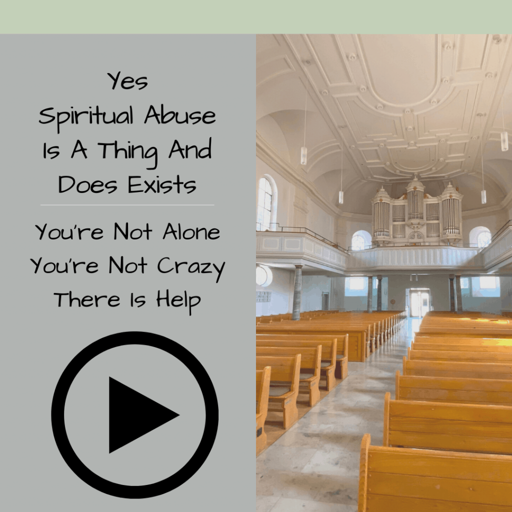 Yes Spiritual Abuse Is A Thing And Does Exists